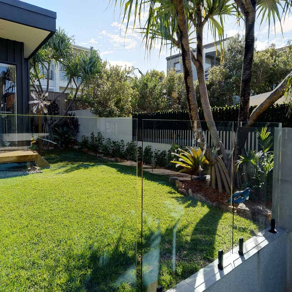 An Outdoor Living Space Covered with Fences